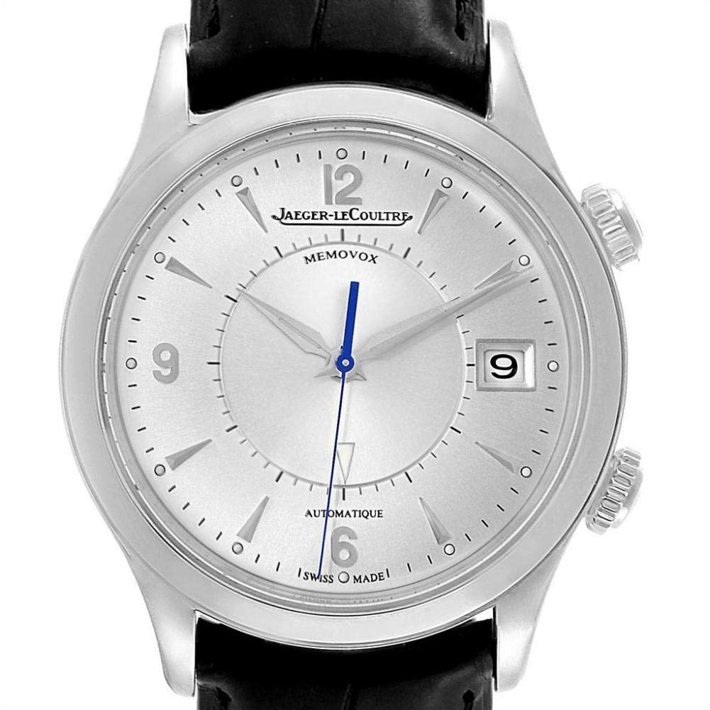 Jaeger LeCoultre Master, Automatic Watches For Men, Swiss Made Watch, Leather Watch, Date Display