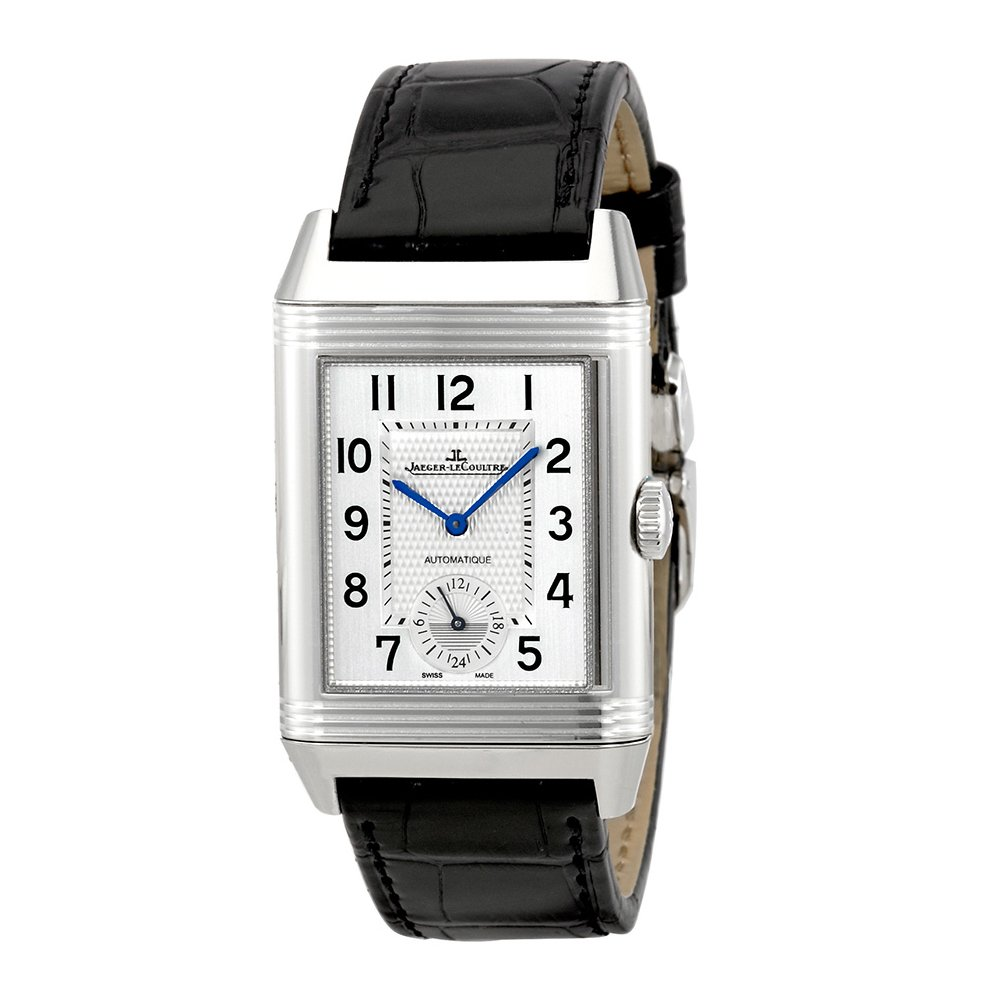 Jaeger-LeCoultre Reverso, Automatic Watch, Swiss Made Watch, Leather Watch