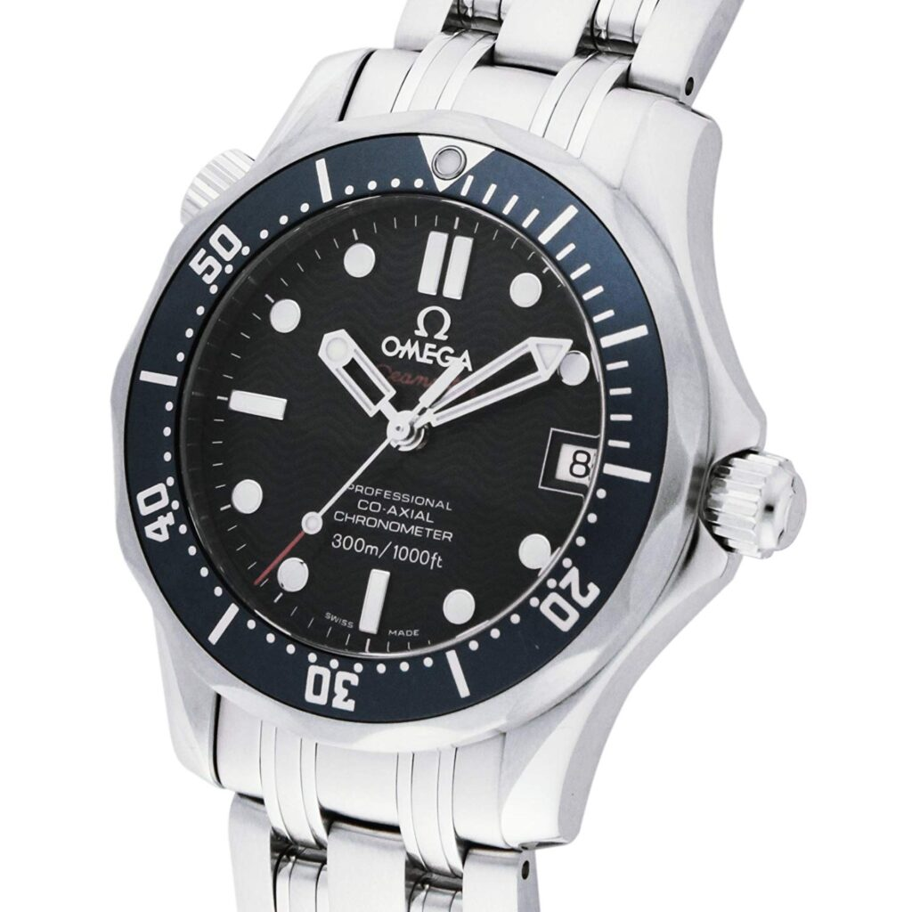 Omega Seamaster Diver 300M, Iconic Movie Watches, Date Display, Chronometer