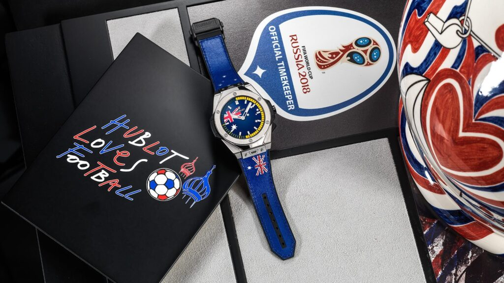 Big Bang Referee 2018 FIFA World Cup Russia Watch, Modern Watch, Sports Watch, Blue Dial