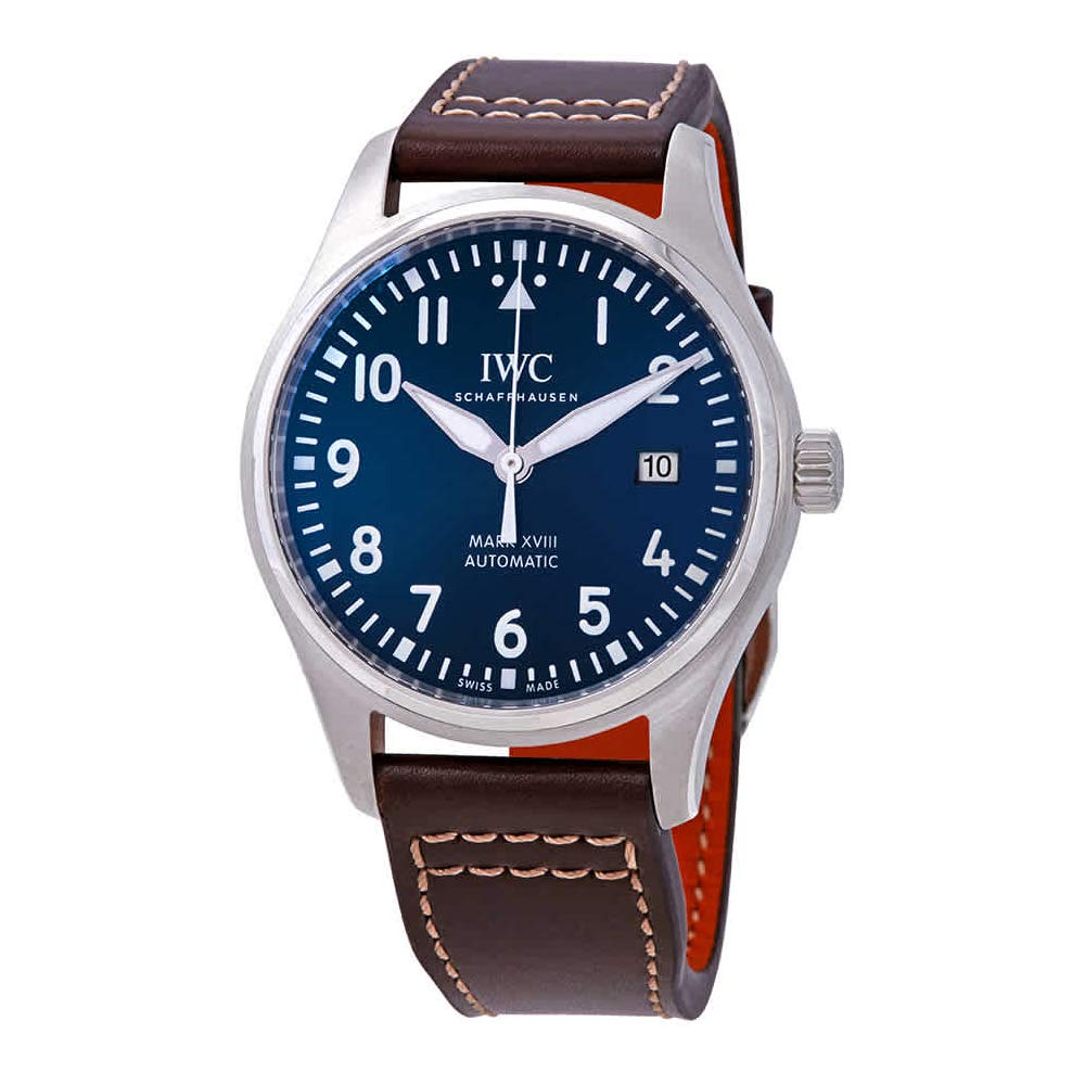 IWC Pilot's Watch Mark XVIII, Automatic Watch, Luxury Watch, Co-ed Watches, Date Display