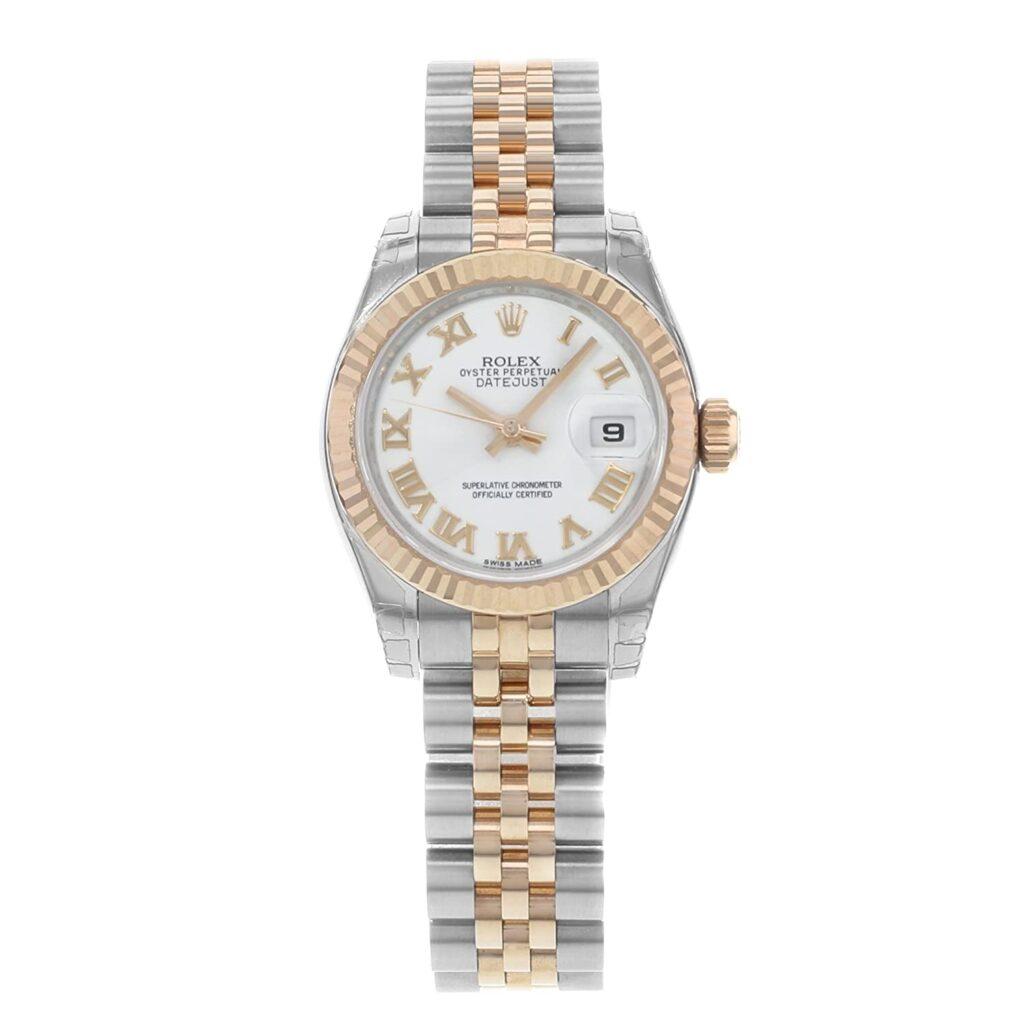 Rolex Day-Date, Stainless-steel Watch, Date Display, Chronometer, Swiss Watch, Rolex Women's Watch