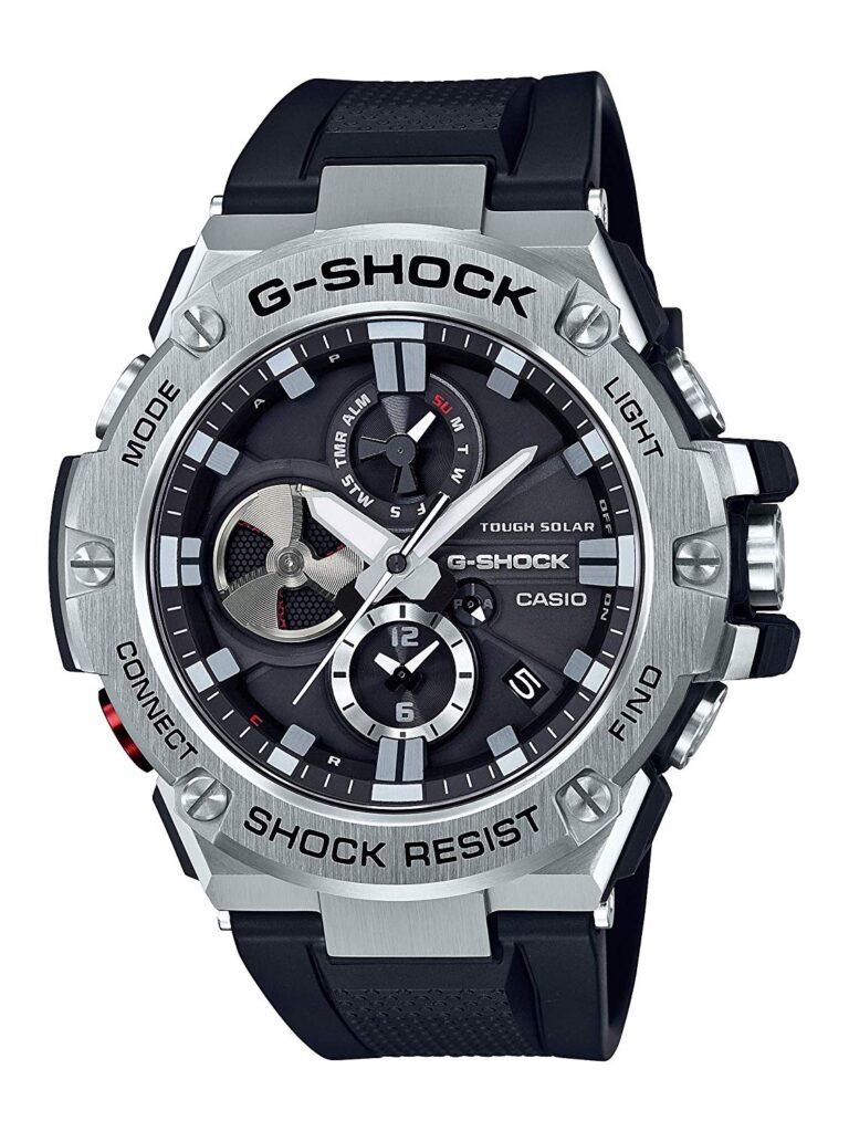 Casio G-Shock, Travel Watches, Solar Watch, Shock-resistant Watch, Silver Watch