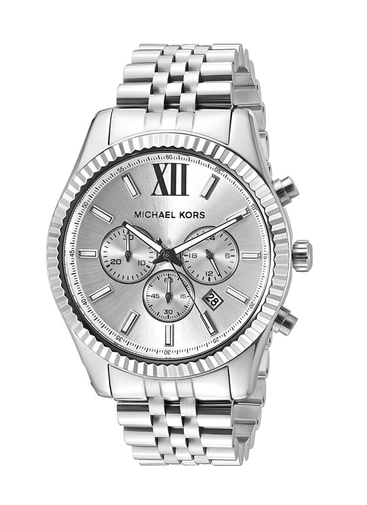 Michael Kors Lexington, Travel Watches, Silver Watch, Luxury Watch