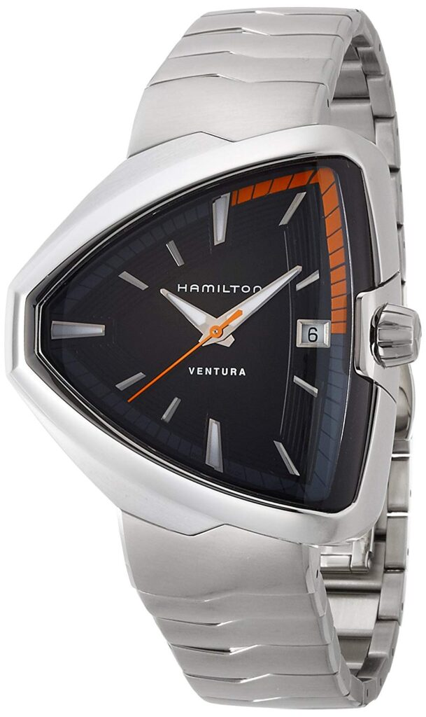 Hamilton Ventura, Silver Watch, Modern Watch, Automatic Watch, Date Display