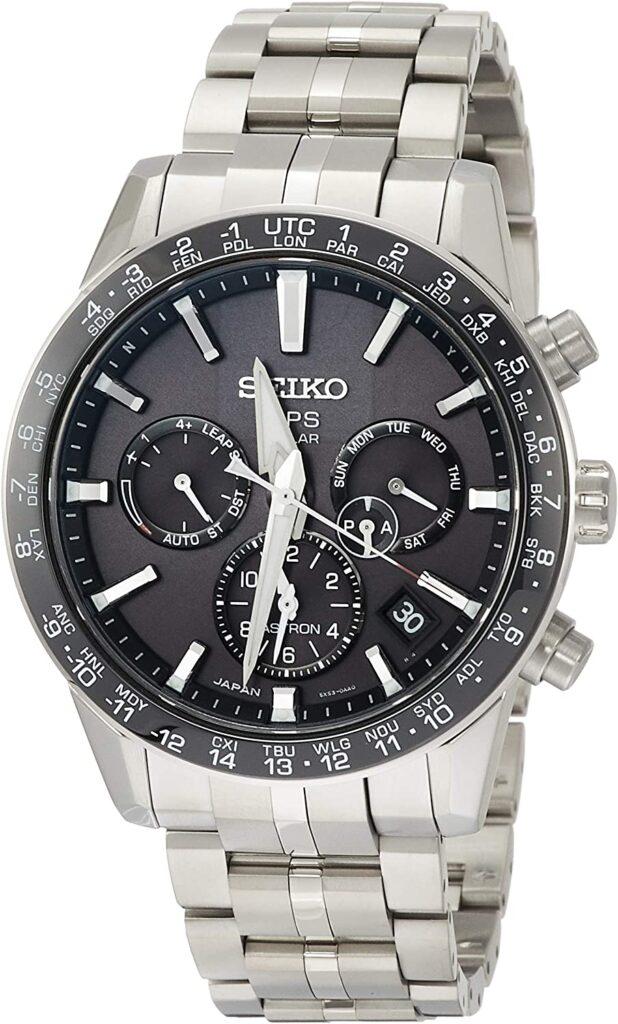 Travel Watches, Seiko Astron, Solar Watch, Eco-friendly Watch, Steel Watch