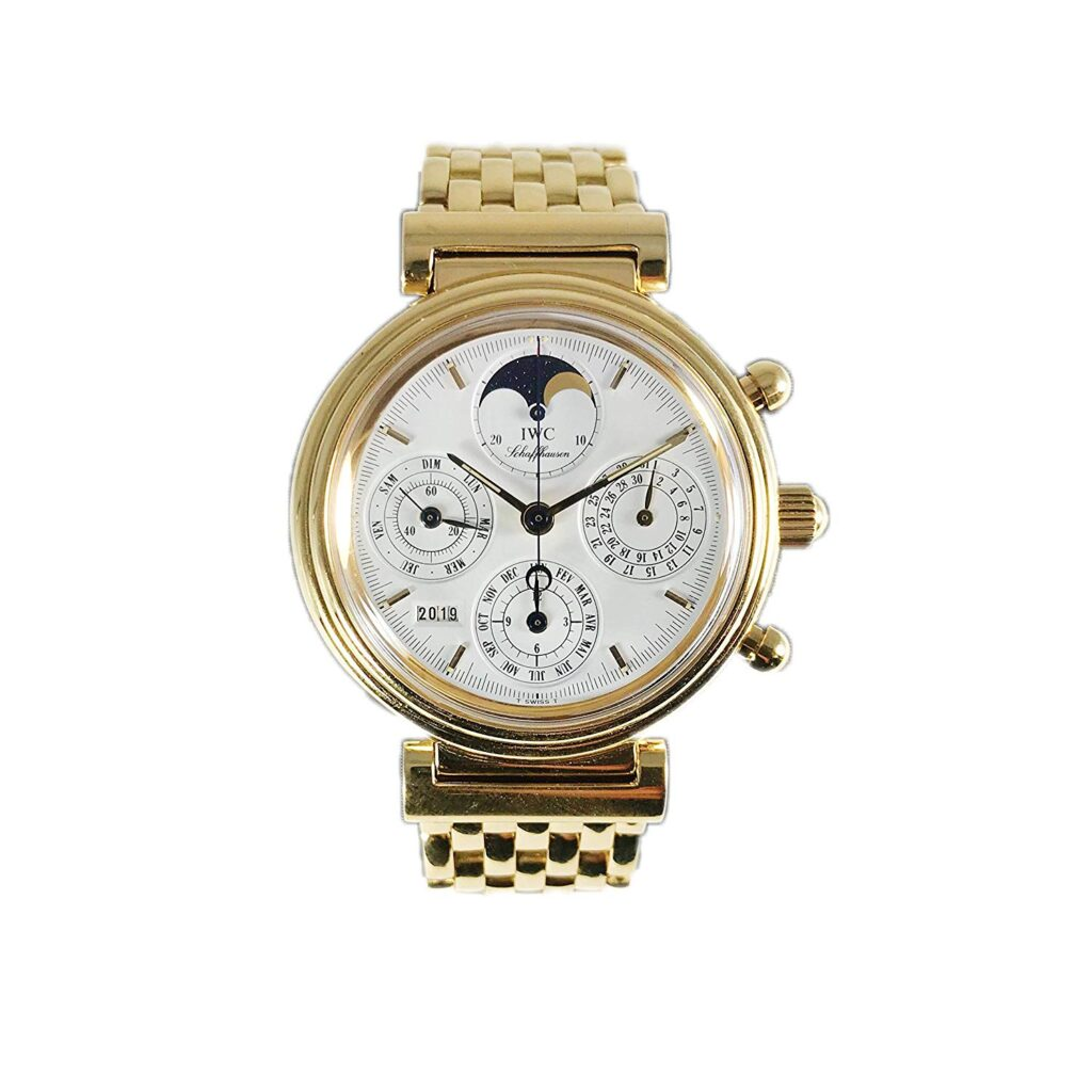 IWC Da Vinci Perpetual Calendar Chronograph, Racing Watches, Sports Watch, Gold Watch, Modern Watch
