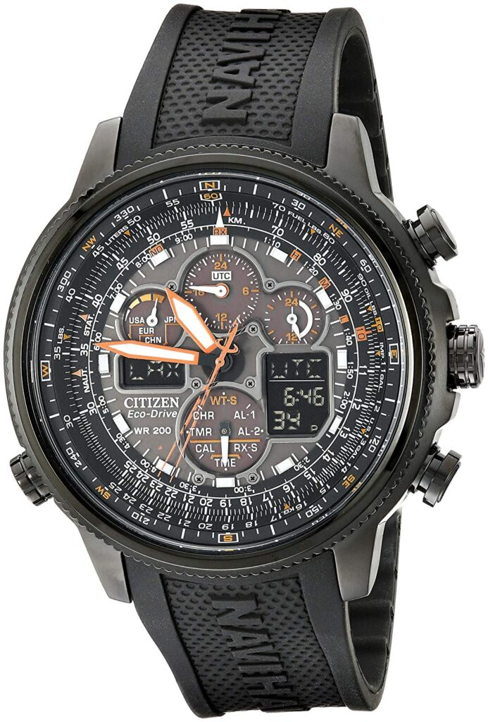 Citizen Eco Drive Navihawk, Travel Watches, Rubber Strap, Modern Watch, Automatic Watch