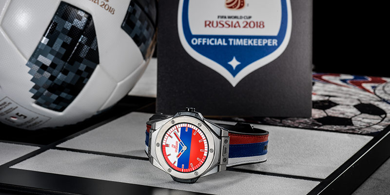 Why Hublot's Watches Are Winning at the World Cup