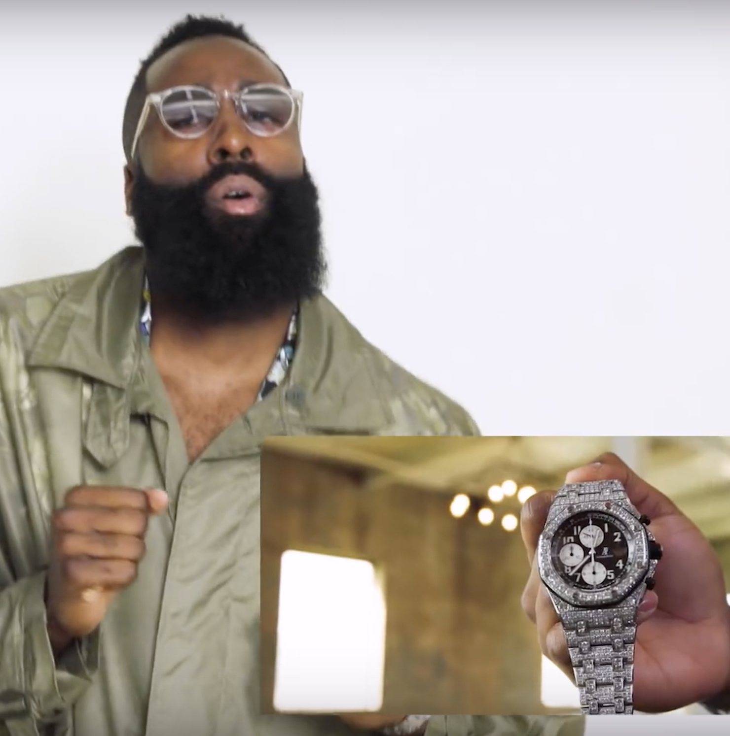 james harden, houston rockets, watches, Audemars Piguet, rolex, jewelry