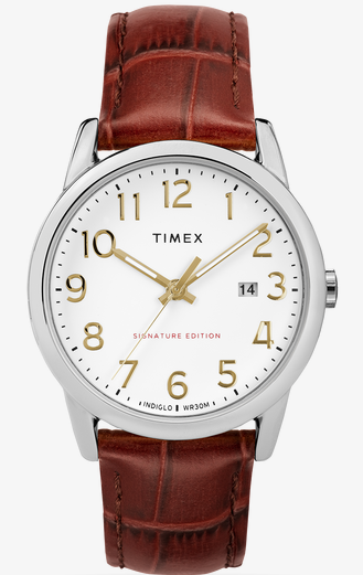 timex easy reader, timex watch, co-ed watch