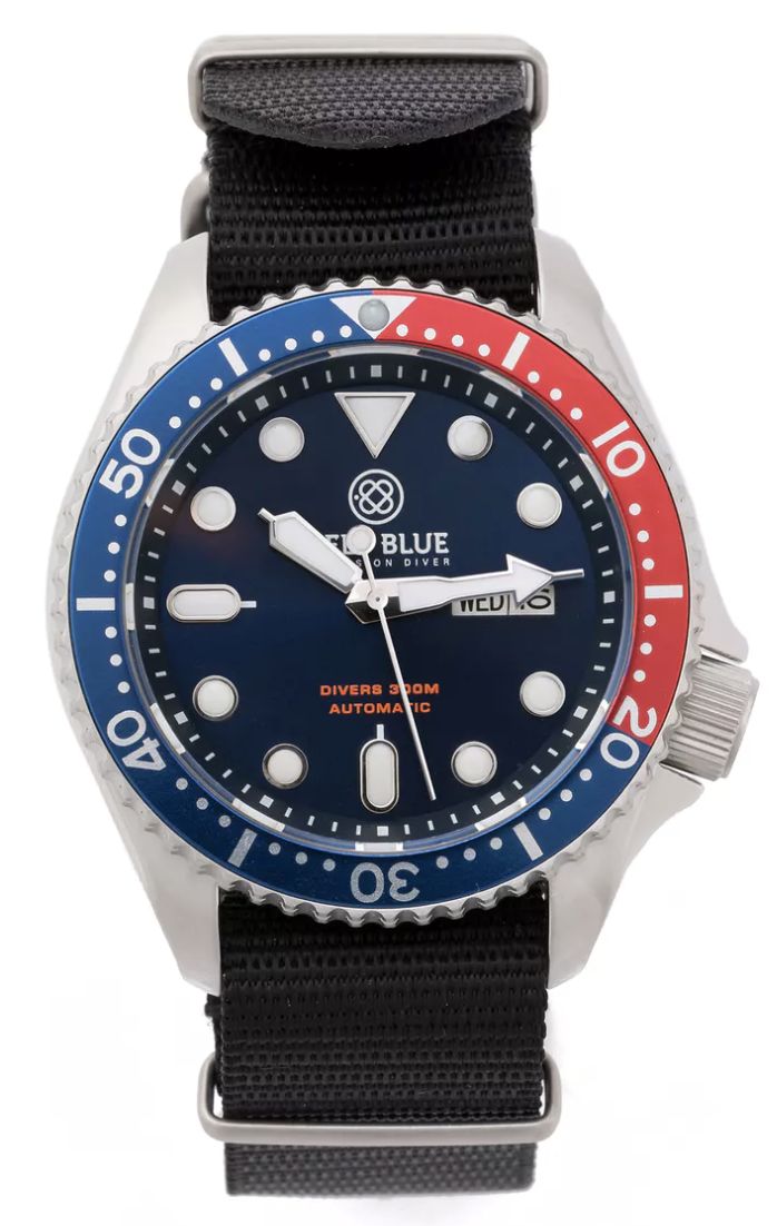 huckberry nato diver watch