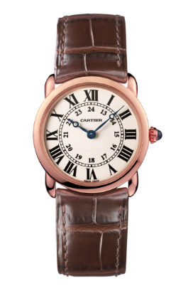 cartier, cartier watch, rose gold watch