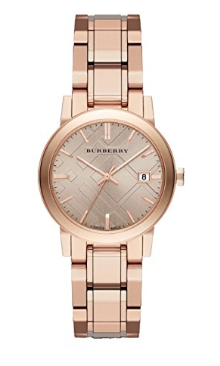 burberry, burberry watch, rose gold watch