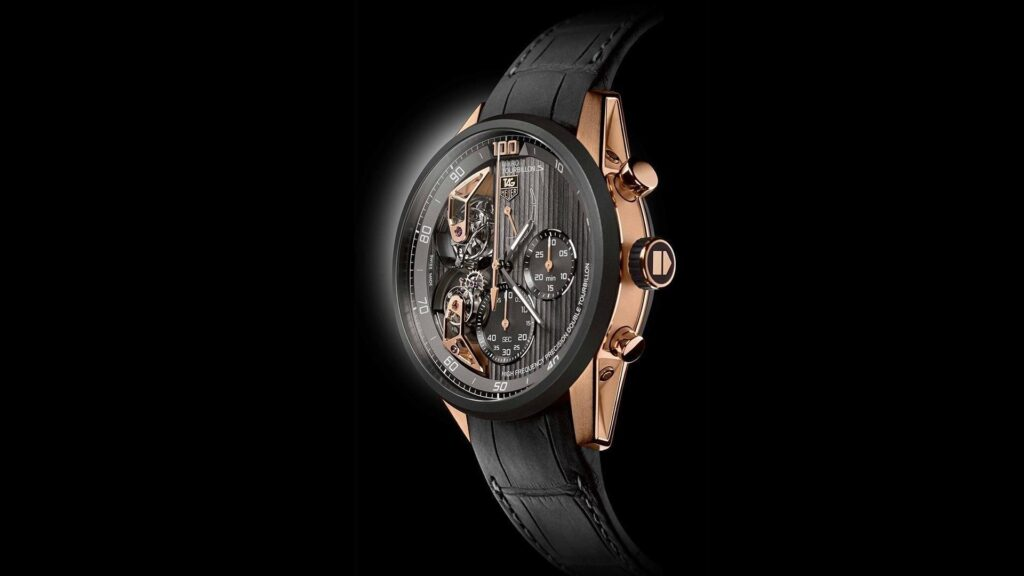 Cristiano Ronaldo Watches, Carrera Mikrotourbillons, Unique Watch, Bronze Watch, Modern Watch