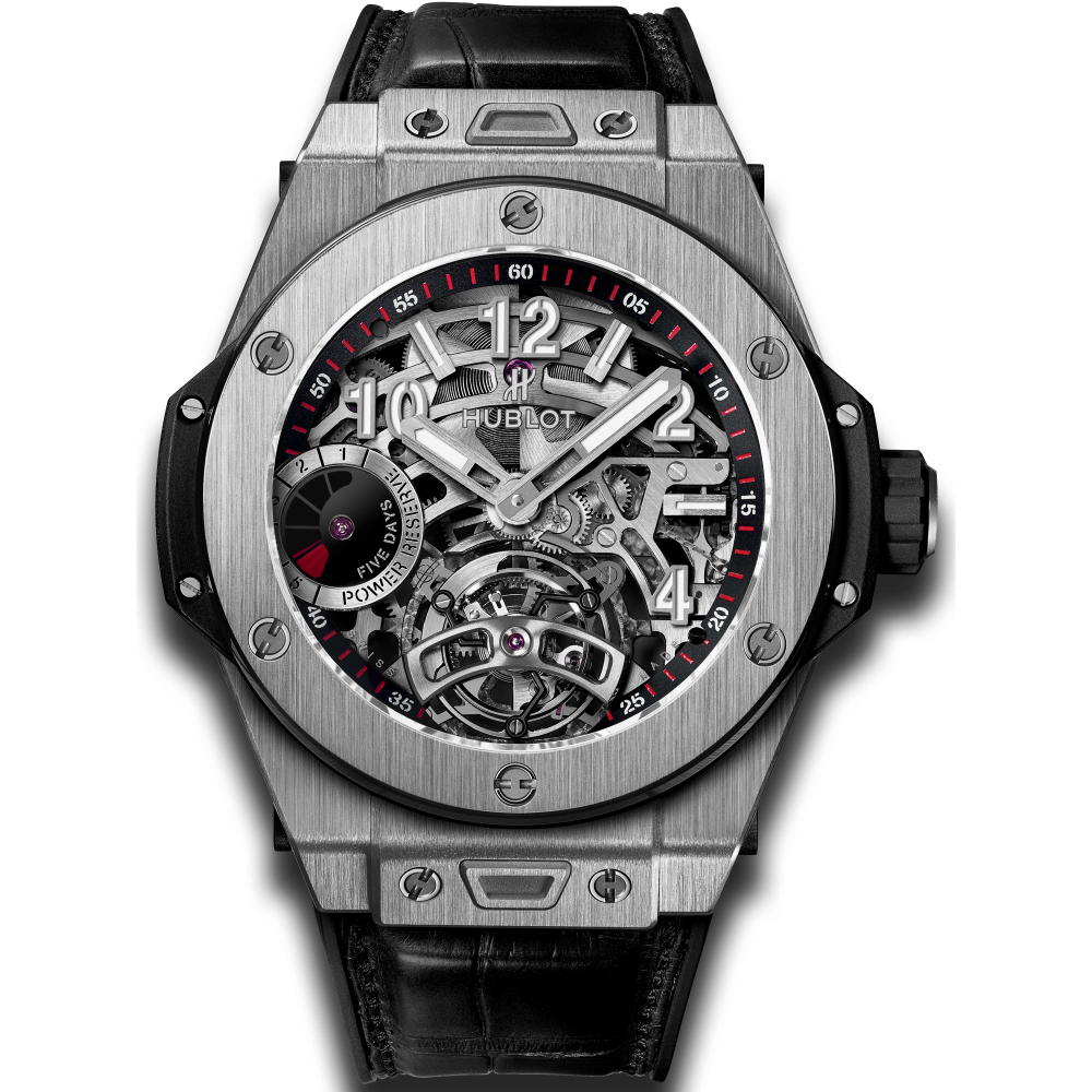 Hublot Big Bang Big Date Tourbillions, Silver Watch, Modern Watch, Unique Watch
