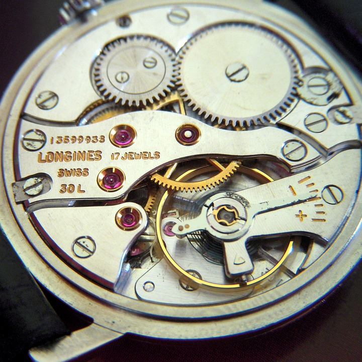 Watch Component, Swiss Watch Part, Swiss Watches, Mechanical Parts, Movement