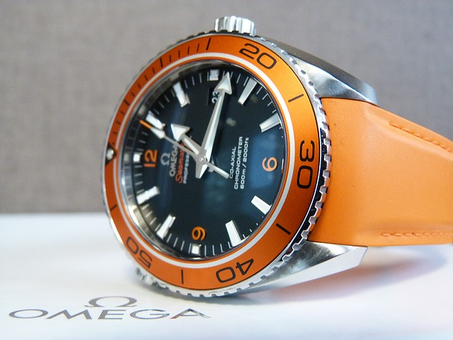 Omega Seamaster Watch, Orange Watch, Modern Watch, Chronometre, Automatic Watch