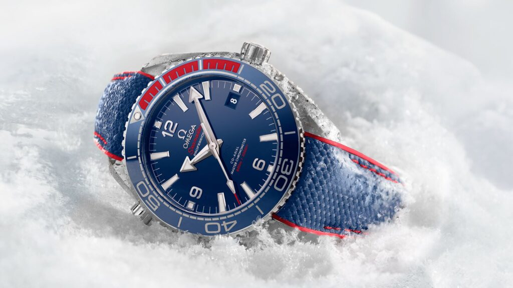 Omega Seamaster 'Pyeongchang 2018', Valuable Watch, Durable Watch, Sports Watch, Luxury Watch