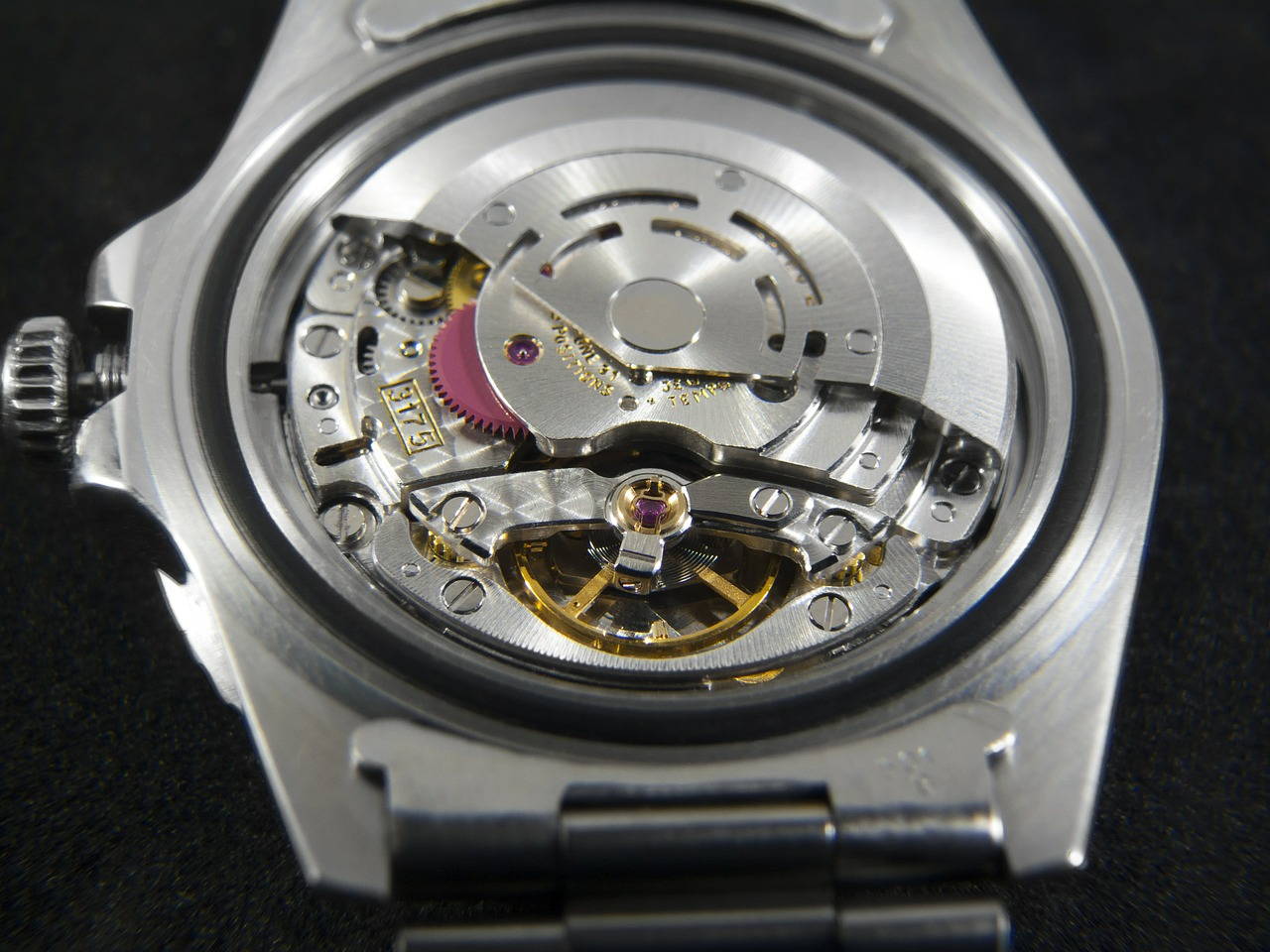 Rolex Watches, Watch Parts, Watch Movements, Hand-assembled, Silver Watch