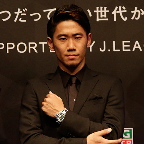 Shinji Kagawa, Tag Heuer Watch, Wristwatch, Luxury Watch, Automatic Watch