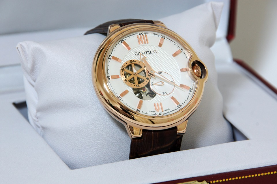 Swiss Watches, Cartier Watch, Golden Watch, Modern Watch, Luxury Watch