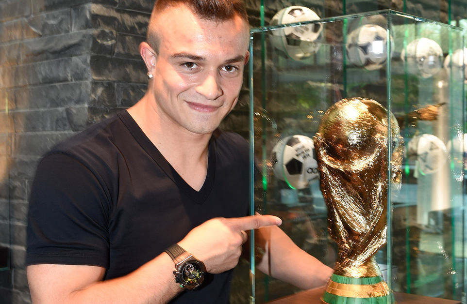 Xherdan Shaqiri, Hublot Watch, World Cup Players Watches, Automatic Watch