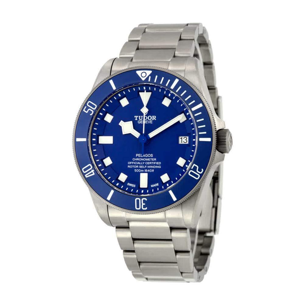 Vintage Watches, Tudor Pelagos, Blue Dial, Date Display, Swiss Watch