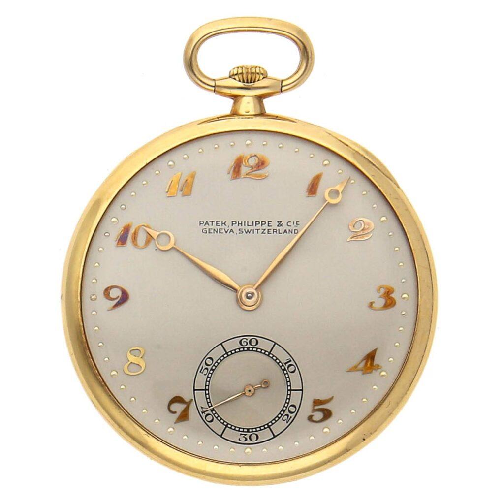 Patek Philippe Pocket Watch, Gold Watch, Vintage Watch, Classic Watch, Luxury Watch