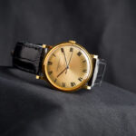 Luxury Watch, Vacheron Constantin, Golden Watch, Leather Watch, Elegant Design
