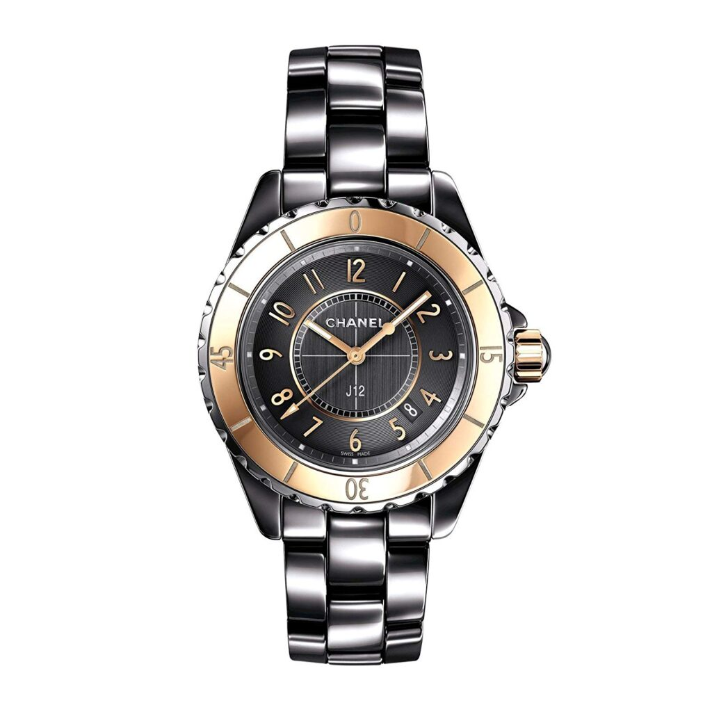 Chanel J12 Grey Dial Titanium Ceramic Automatic Ladies Watch, Watch Brands In-house, Silver Design, Gold Design, Luxury Watch