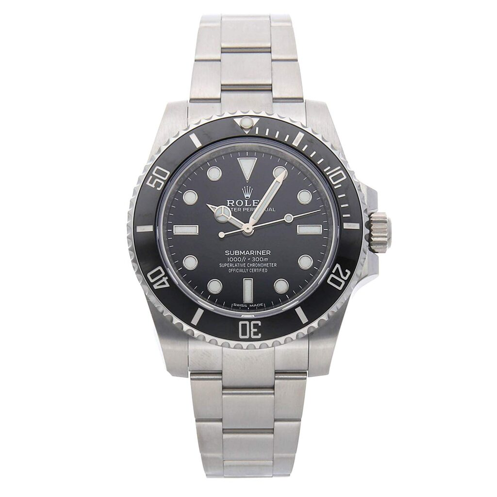 Rolex Submariner, Popular Rolex Models, Black Dial, Swiss Made Watch, Silver Watch