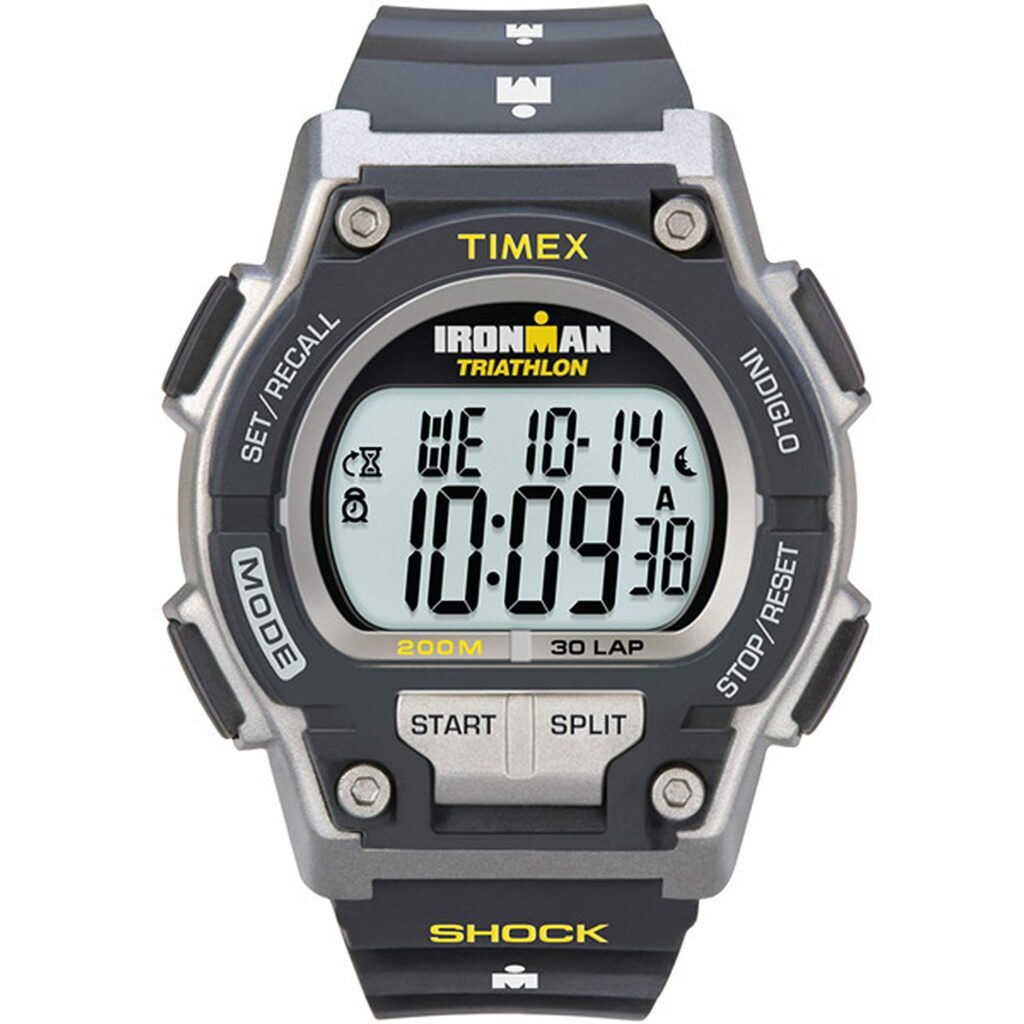 Timex Ironman, Fitness Watch, Male Watch, Digital Watch, Shock-resistant Watch
