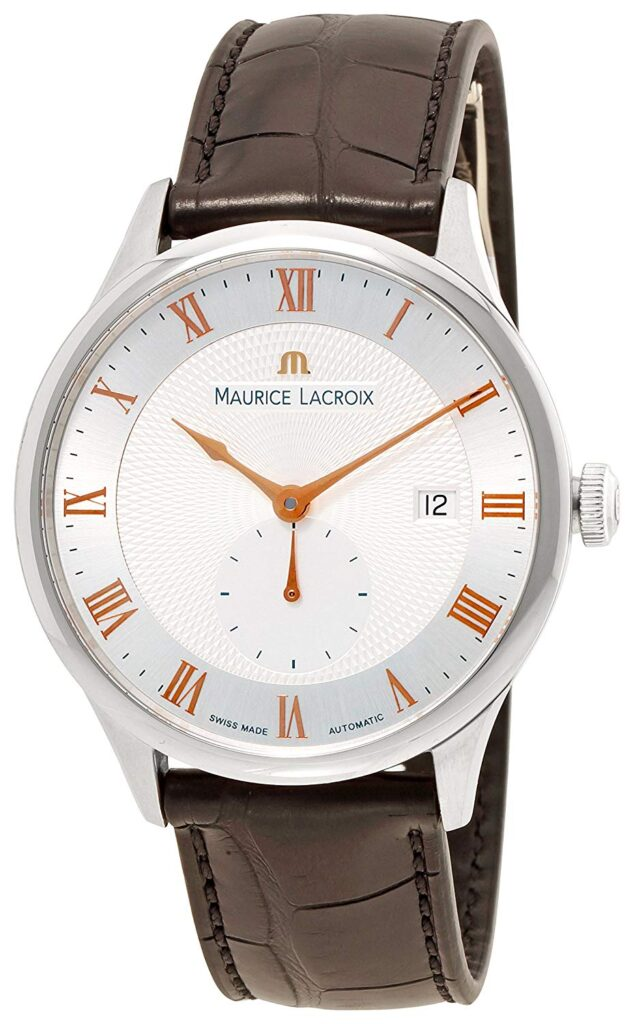 Swiss Watch, Men's Dress Watches, Automatic Watch, Leather Watch, Date Display, Maurice Lacroix Masterpiece