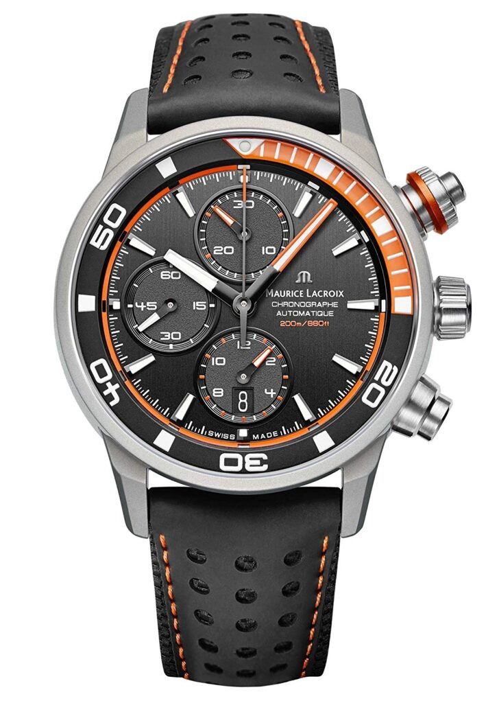 Maurice Lacroix Pontos S Extreme Diver Chronograph Mens Watch, Watch Brands In-house, Automatic Watch, Swiss Made Watch