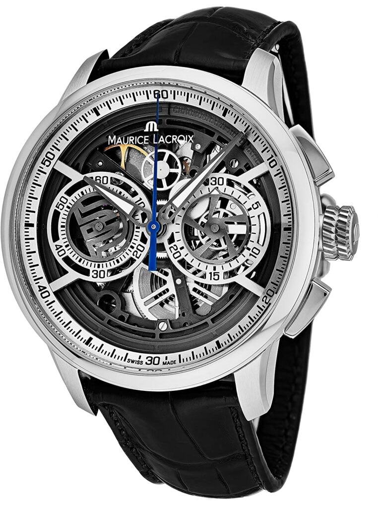 Maurice Lacroix Masterpiece Skeleton, Skeleton Watches, Modern Watch, Water-resistant Watch