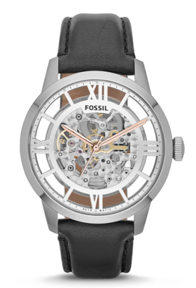 Fossil Men's Townsman skeleton Watch, fossil watch, fossil, skeleton watches