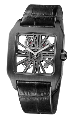Cartier Santos-Dumont Skeleton Watch, skeleton watch, cartier skeleton, cartier watch