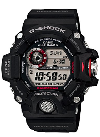 Casio g-shock rangeman triple sensor watch, casio g-shock watch