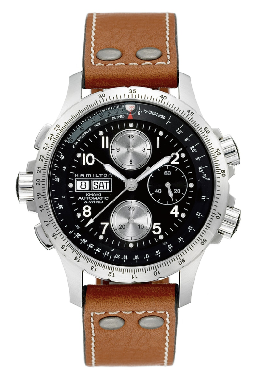 Hamilton Khaki X-Wind Chronograph, men's watches