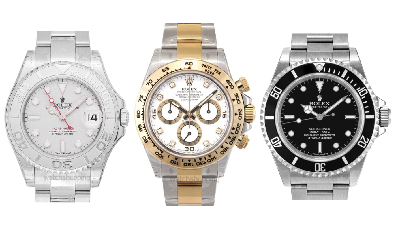 The 8 Most Popular Rolex Models