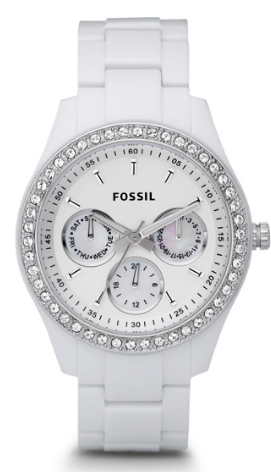 Fossil Stella, fossil watches, all white watches