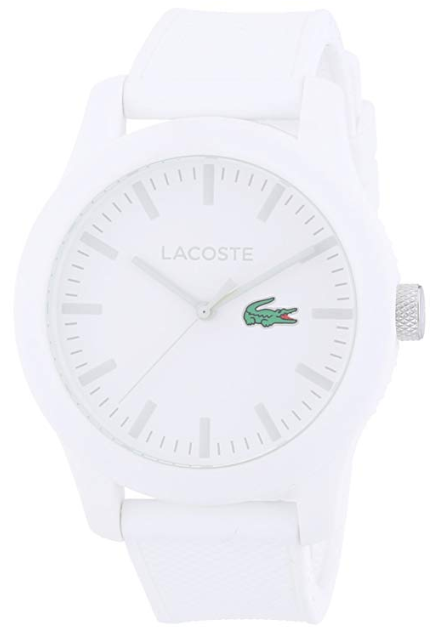 Lacoste 2010762, all white watches