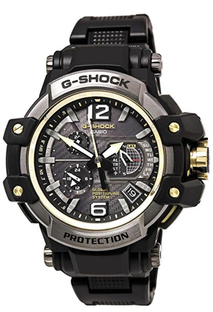 Casio G-Shock Gravity Master, high tech watches