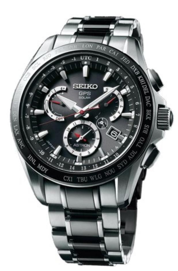 The Seiko Astron Solar GPS Chronograph