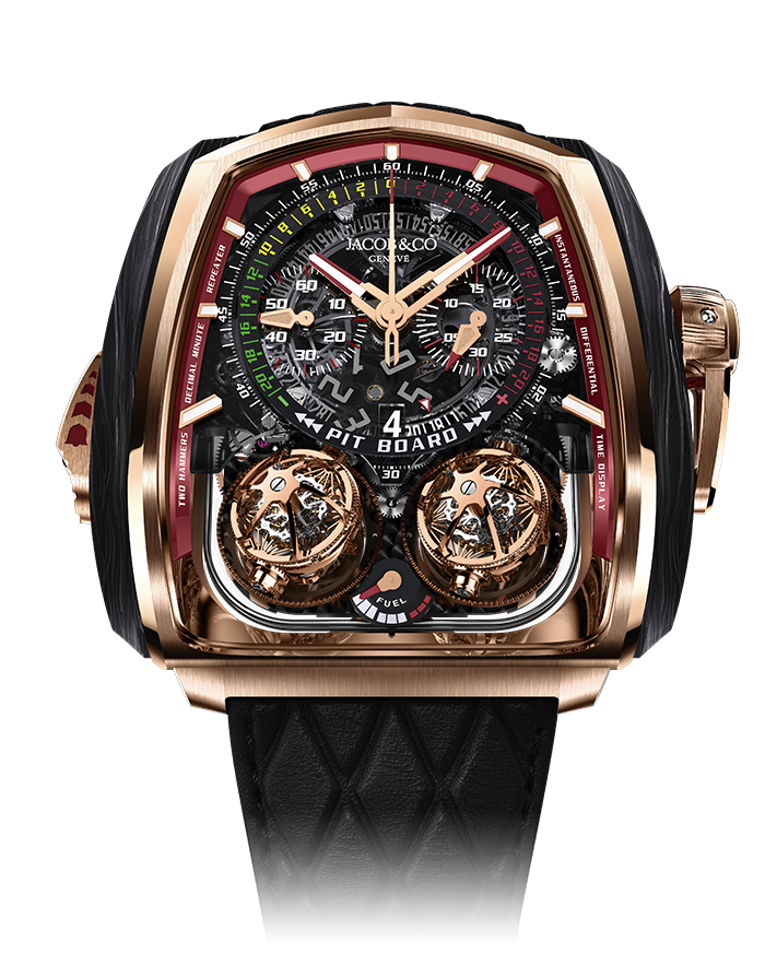 Jacob Twin Turbo Furious, Tourbillon, Watch Parts, Unique Watch, Watch Design