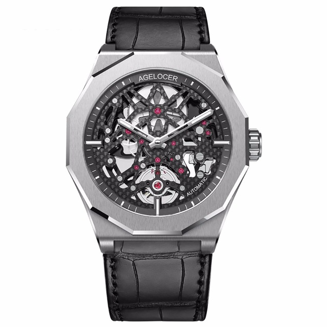 Agelocer Skeleton Diver Watch, skeleton watch, agelocer watch