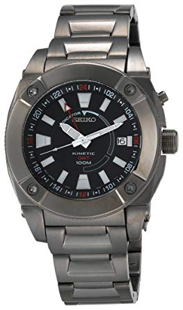 Seiko Sun007 Kinetic Wrist Watch, seiko watch, seiko mens watch