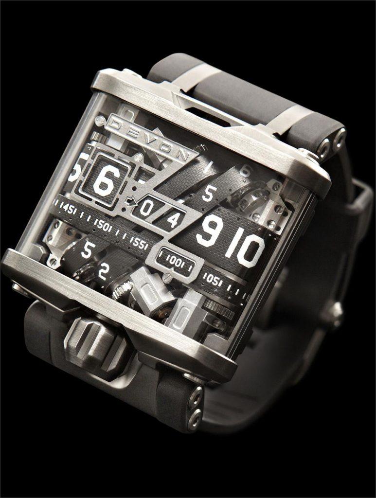 Devon Tread 1, High-tech Watches, Modern Watch, Unique Watch, Distinct Watch
