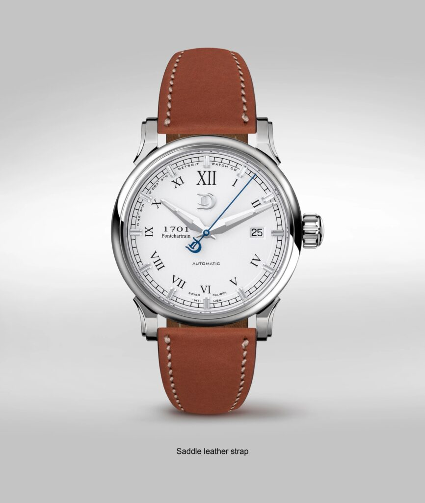 DMC Watch, Brown Strap, Luxury Watch, Leather Watch, Automatic Watch